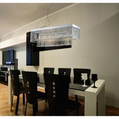 Cortina 12 Light Chandelier in Polished Chrome - Homeclick Community