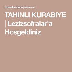 TAHINLI KURABIYE | Lezizsofralar'a Hosgeldiniz