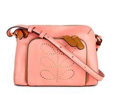orla kiely boutique, neon pink chance bag.