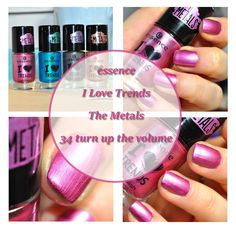 essence I Love Trends The Metals 34 turn up the volume, nailpolish, Nagellack, nails, Blogger, Beauty Blogger, Blog, Review, swatches