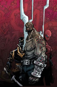 The Top 10 Comic Book BADASSES of All Time