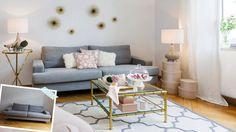 Sofa, wandle dich: Wir haben unser Basic-Modell in Grau   vier Mal umgestylt –…