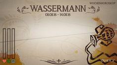 Wochenhoroskop: Wassermann (KW 32 - 2016) - So stehen deine Sterne Kinder Wochen vom 8. - 14.8.2016 #Horoskop #Wassermann #Liebe #Gesundheit #Job