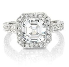 Jewelry & Watches Trustful 0.76 Ct Raw White Natural Diamond 925 Sterling Silver Engagement Ring Size 7.5 Fine Rings