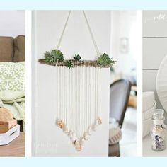 Projects Archives - Page 3 of 3 - Sand Dollar Lane Potted Plants, Plant Hanger, Beach House, Coastal, Candle Holders, Diy Projects, Candles, Summer, Home Decor