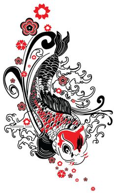 …but upside down  Koi Red by swabreen, via Flickr