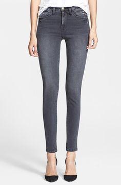 Frame Denim 'Le High Skinny' Jeans (Preston)