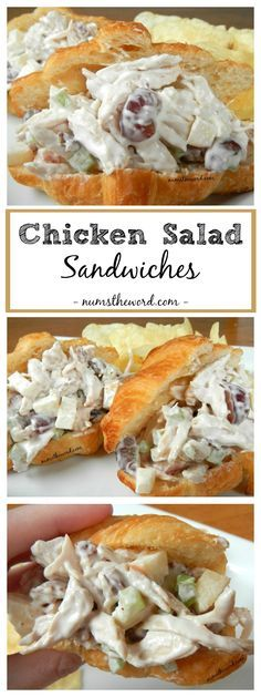 If you are a fan of Chicken Salad Sandwiches, you should give this version a try. It has a secret ingredient of whipped cream which sweetens it up!