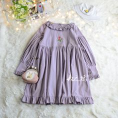 Buy flaneur Long-Sleeve Pleated A-line Dress Kids Wear, Line, Off Shoulder Blouse, Pleated Dresses, Flower Girl Dresses, Wedding Dresses, Long Sleeve, How To Wear, Tops
