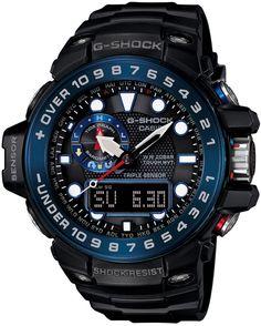 Amazon.co.jp: [カシオ]CASIO 腕時計 G-SHOCK GULFMASTER トリプルセンサーVer.3+スマートアクセス+タフムーブメント搭載 世界6局電波対応ソーラーウオッチ GWN-1000B-1BJF メンズ: 腕時計通販