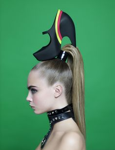 Cara Delevingne by Karl Lagerfeld for Melissa Winter 2013