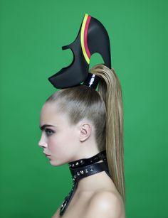 Karl Lagerfeld Shoots Cara Delevingne for Melissa Magazine - Karl Lagerfeld