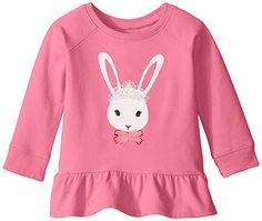 The Childrens Place BabyGirls Long Sleeve Active Peplum Top Tutu 1824 Months *** Click image for more details. (This is an affiliate link)