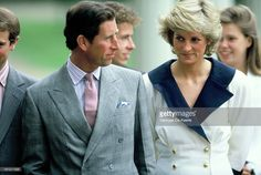 August 4, 1987: Prince Charles and Princess Diana outside of Clarence House on the occasion of the Queen Mother's 87th birthday.