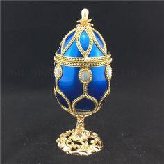 Musical jewelry box/Goose egg trinket gift