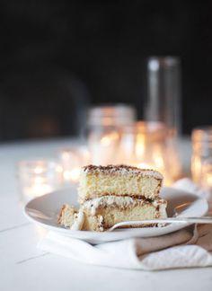 The Tiramisu Birthday Cake | Nectar. I pinned here because tiramisu is probably my most favorite dessert, ever