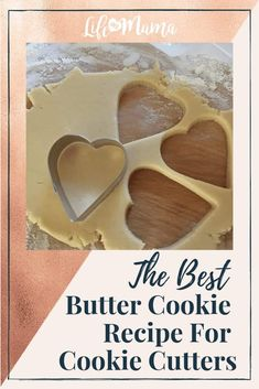 I'm about to do something that I never do lightly: share my family's butter cookie recipe. The best part about this butter cookie recipe is we've always used it for holidays, because no other cookie can compare when it comes to using cookie cutters. Cookie Cutter Recipes, Cookie Recipes For Kids, Cut Out Cookie Recipe, Cookies For Kids, Xmas Cookies, Best Cookie Recipes, Butter Cookie Cutout Recipe, Butter Cookies Christmas, Cookie Tips