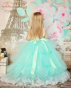 Vestido hermosa para princesas fiestas