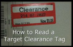 target clearance tags
