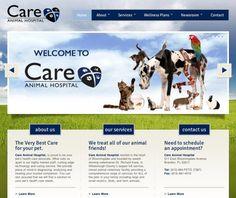 Care Animal Hospital #veterinary #webdesign