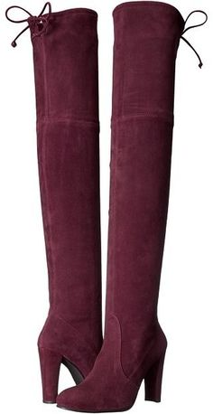 Stuart Weitzman Highland Over The Knee Suede Boots at ShopStyle