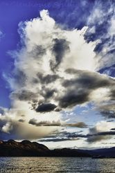 Check out this cloud formation in Kelowna, British Columbia