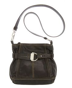 Tignanello Handbag, Soft Cinch Double Entry Hobo Bag - Hobo Bags - Handbags & Accessories - Macy's Tignanello Handbags, Hobo Bag, My Bags, Bucket Bag, Accessories, My Style, Leather, Jewelry Accessories