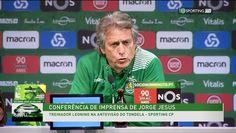 Conferência de Imprensa Jorge Jesus   Tondela X Sporting CP   10 de Março de 2017