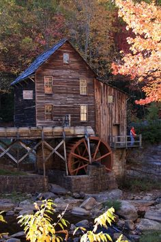 Glade Creek Mill - Babcock State Park - Fayette County, West Virginia