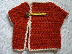 easy crochet baby sweater