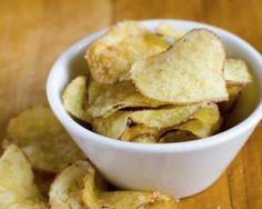 Chips de pommes de terre sans matières grasses (sans friture) : Savoureuse et équilibrée | Fourchette & Bikini