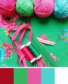 Yarn color palette