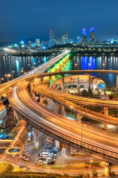 Cheongdam Bridge, Seoul (청담대교) by BiMim