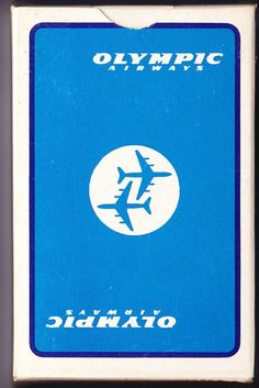 Olympic Airlines Playing Cards