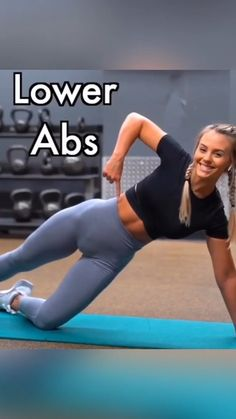 Lower abs workout for women. Lower abs workout at home. Credit: IG ashleigh - 50 - Lower abs workout for women. Lower abs workout at home. Abs Workout Video, Gym Workout Tips, Ab Workout At Home, Butt Workout, At Home Workouts, Traps Workout, Oblique Workout, Abs On Fire Workout, Bench Ab Workout