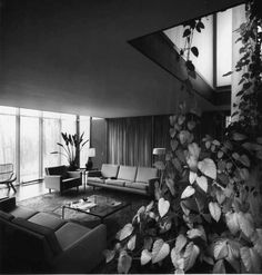The Kirkpatrick Residence in Kalamazoo, MI designed in 1955 by George Nelson—Herman Miller's longtime director of design.