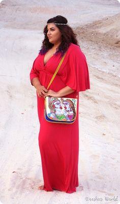 @Yvonde Horton Clothing Charlize Maxi Dress Ragmatazz bag www.ragmatazz.com
