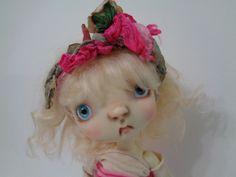 "Connie Lowe Sprockets Glum 10"" OOAK Doll COA Pillow Wrap Marble Halls Bag BJD"