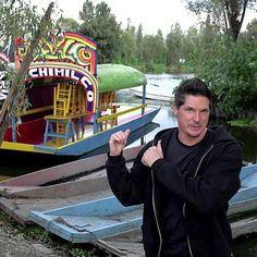 "Zak Bagans in Xochimilco. ""Island of the Dolls"" episode."