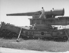 panish railway Gun