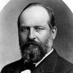 James A. Garfield President of the United States Presidential Portraits, Presidential History, Presidential Trivia, All Presidents, American Presidents, Us History, American History, History Museum, 20th President