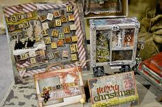 New Tim Holtz Products for Christmas at CHA Summer 2012