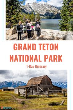 Dreaming of jaw-dropping views, scenic drives, and amazing hikes through one of the most popular National Parks? You'll love our Grand Teton National Park 1-Day Itinerary! Check it out on our blog. #NationalParks #RoadTripIdeas #USRoadTrips #FamilyTravel National Parks Usa, Grand Teton National Park, Thing 1, Road Trip Hacks, Great Vacations, Best Hikes, Road Trip Usa, Wyoming, Travel Guides