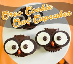 owl-cupcakes...cute for the classroom
