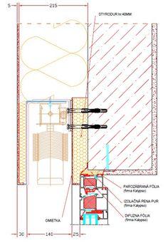 Montáž okien AKTIV – bez tepelných mostov pre nízkoenergetický dom - Stavebníctvo a bývanie Aktiv, Map, Detail, Location Map, Maps