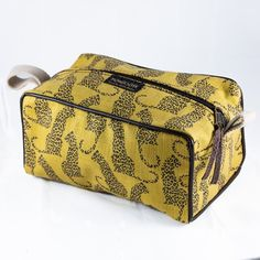 Mongoose Toiletry Bag |Shop online now at www. GoodiesHub.com Mongoose, Waterproof Fabric, Toiletry Bag, Travel Bags, Shopping Bag, Unique, Pattern, Cotton, Leather