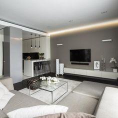Дизайн интерьера гостиной, стиль - современный: фото, идеи дизайна, каталог - oselya.ua
