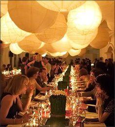 love overdone paper lanterns