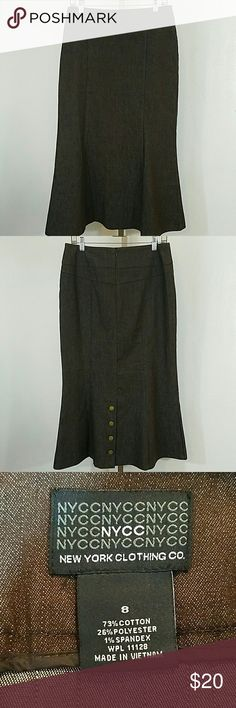 New York Clothing Co. Skirt New York Clothing Co. Skirt. In excellent condition. Size 8. New York & Company Skirts Midi