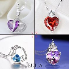 I love all.How about you ? #jeulia #necklace #fashionjewelry.